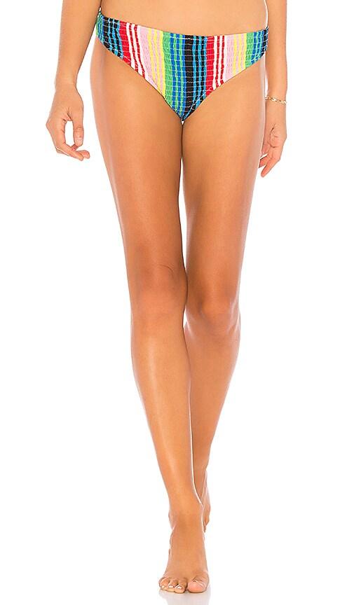 Smocked Cheeky Bikini Bottom