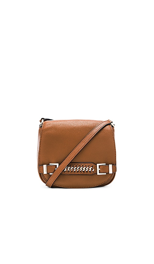 Diane von Furstenberg Iggy Saddle Bag in Brown