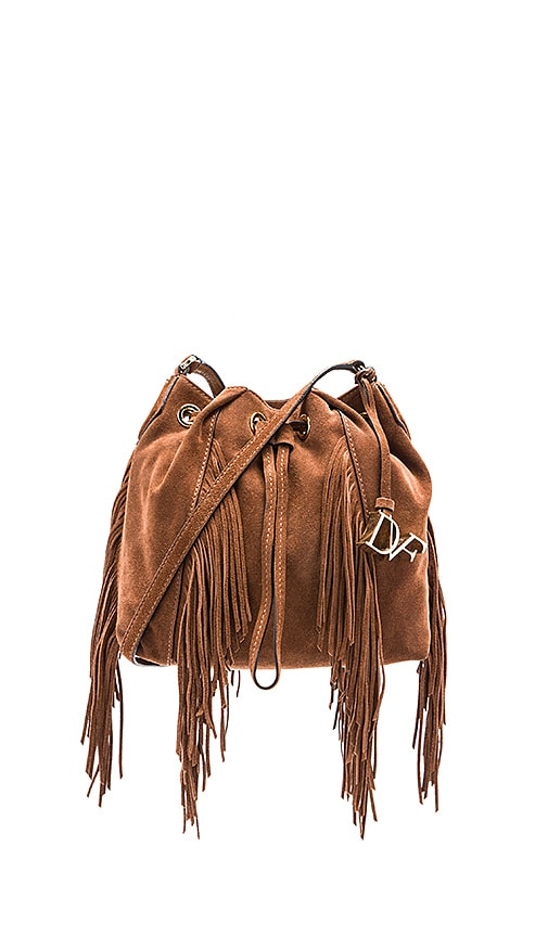 Diane von Furstenberg Voyage Boho Crossbody in Brown