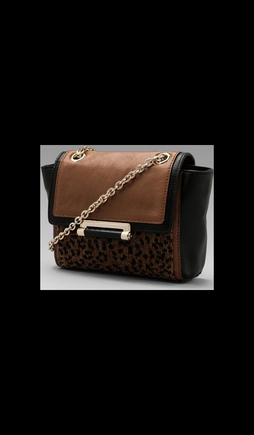 Mini Leopard Jacquard Bag