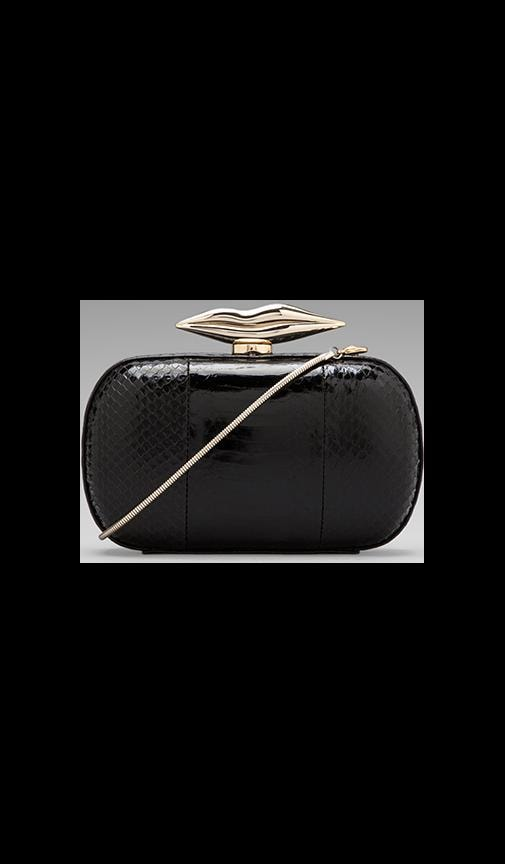 Flirty Minaudiere Watersnake Clutch
