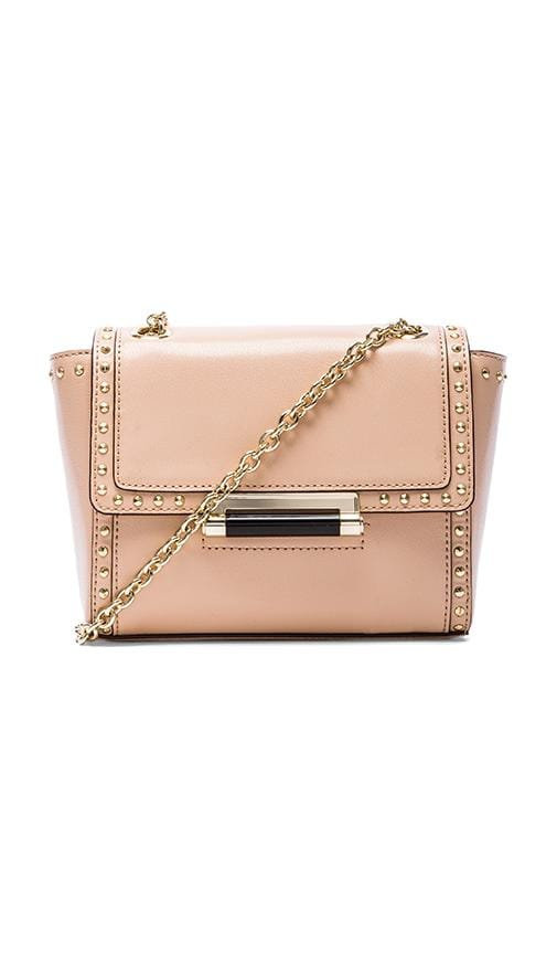 Mini Faceted Stud Crossbody Bag