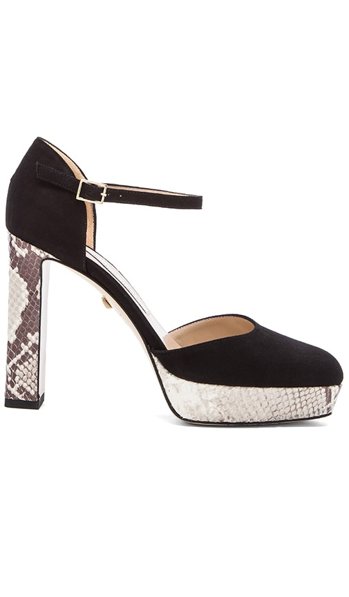 Diane von Furstenberg Mika Heel in Black