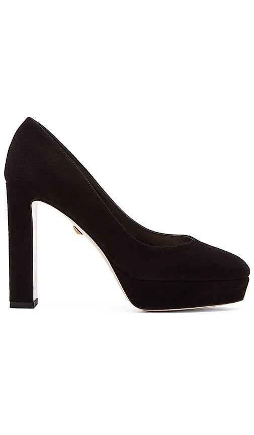 Diane von Furstenberg Michelle Heel in Black