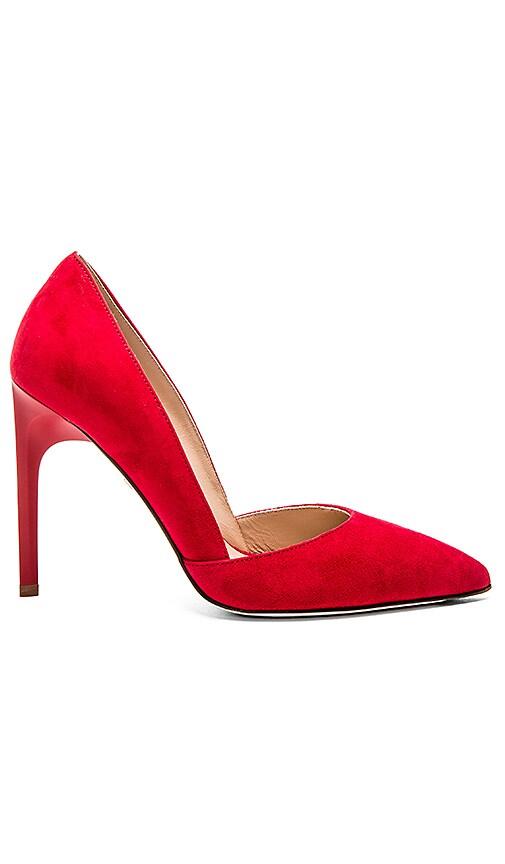 Diane von Furstenberg Myriam Heel in Red