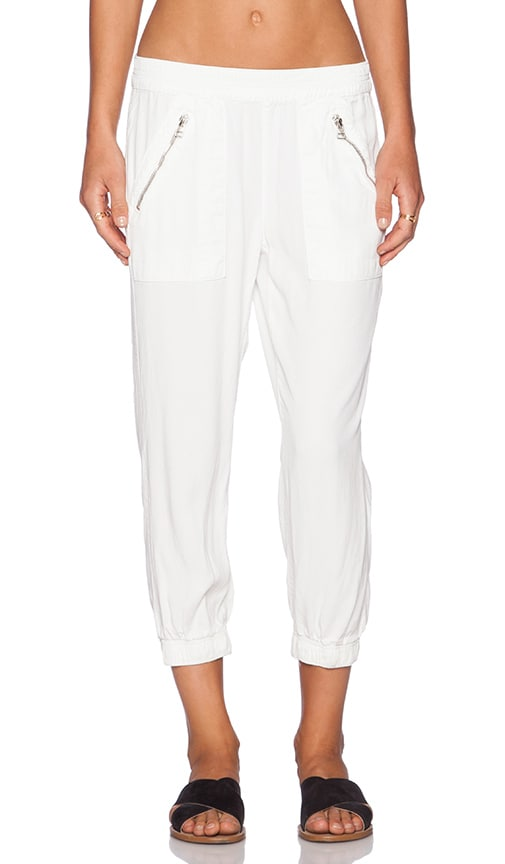 DWP Brody Crop Jogger in Aged White | REVOLVE