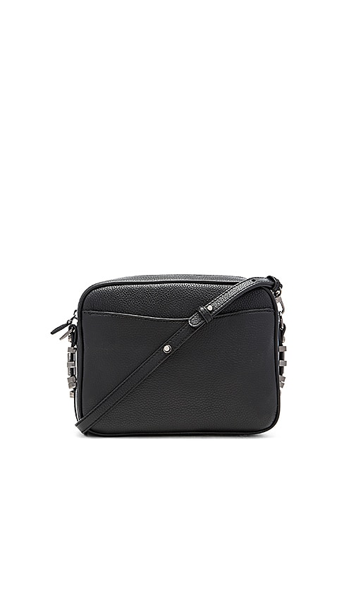 DYLAN KAIN The Rodriguez Crossbody Bag in Gunmetal