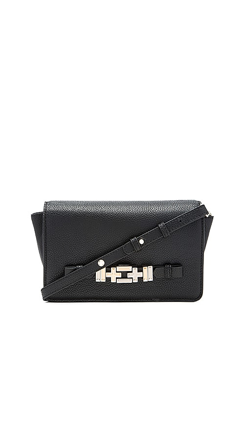 DYLAN KAIN The Sixto Crossbody Bag in Silver