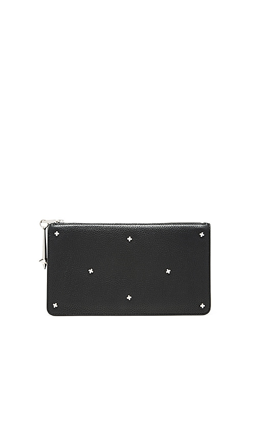 DYLAN KAIN The NYC Clutch in Silver