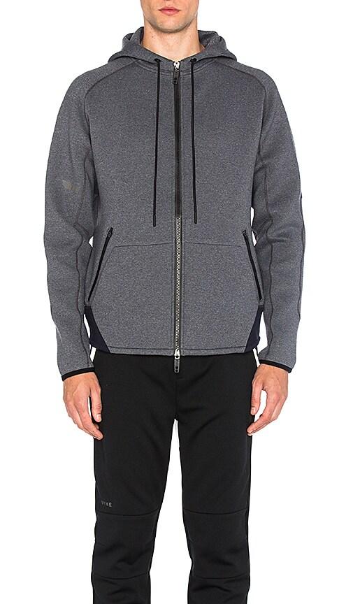 Dyne Kandel Mega Full Zip Hoodie in Gray