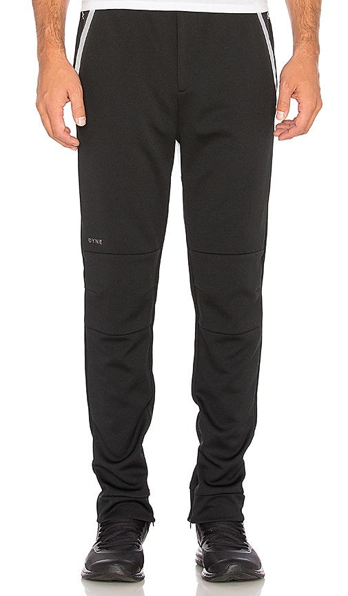 Dyne Fresnel Contrast Panel Pants in Black