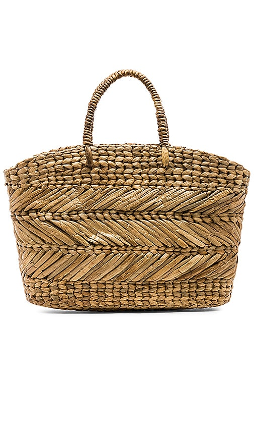Corfu Beach Basket Bag