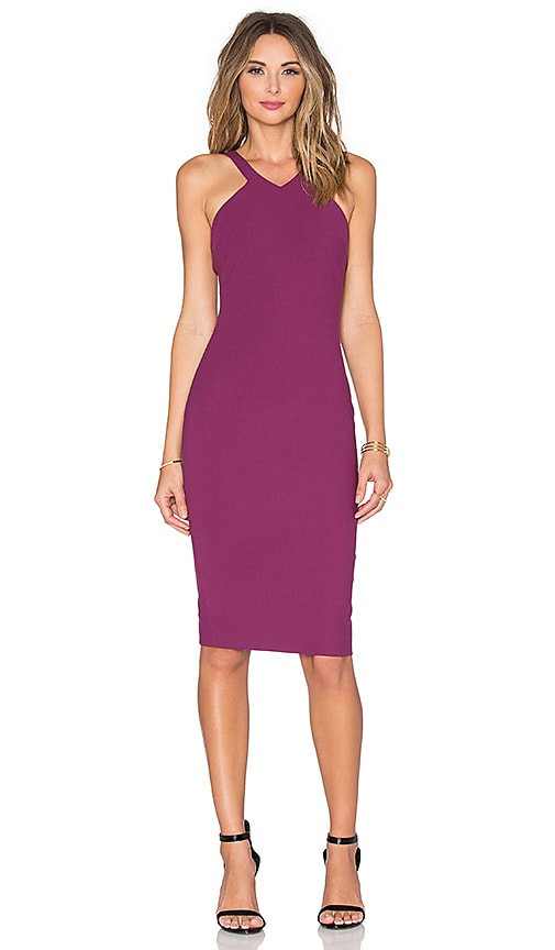 Elizabeth and James Edi Dress in Purple