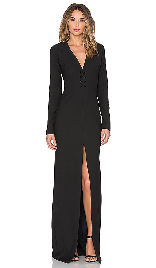 Elizabeth and James Perla Dress in Black