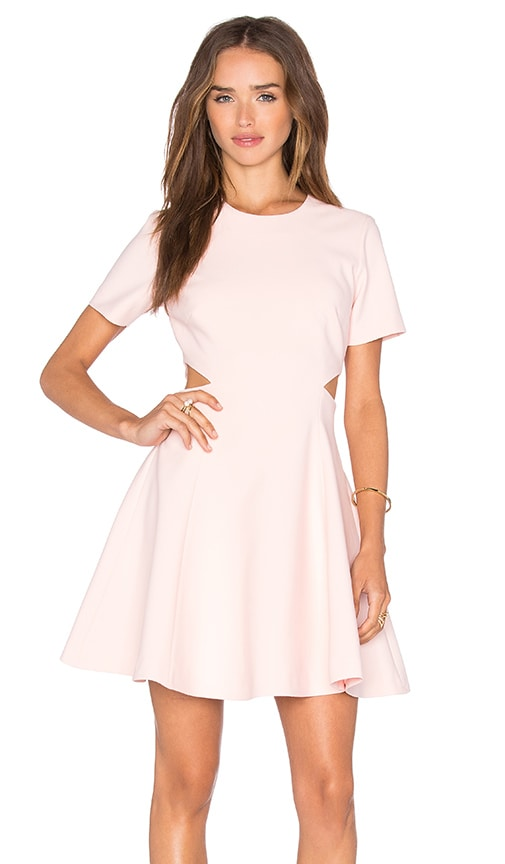 Elizabeth and James Leonie Dress in Pink