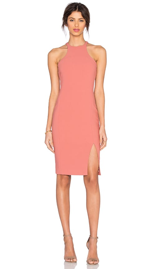 Elizabeth and James Hout Dress in Peach