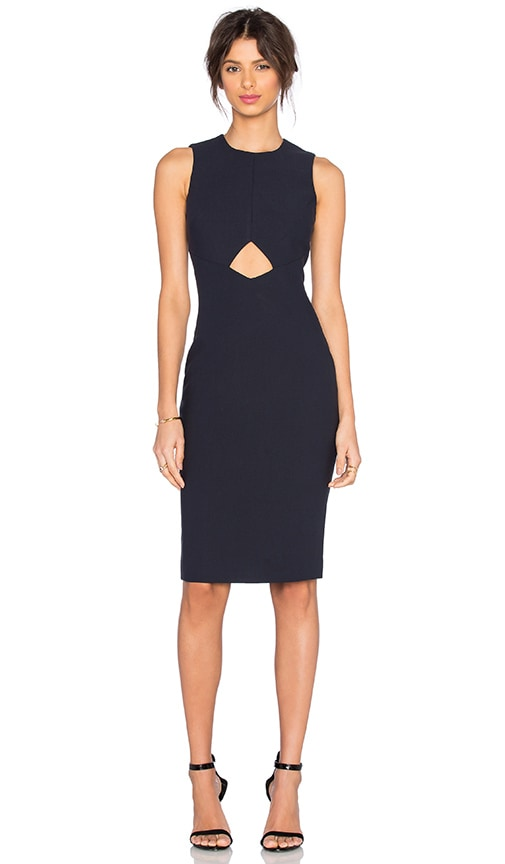 Elizabeth and James Sapphire Dress in Navy