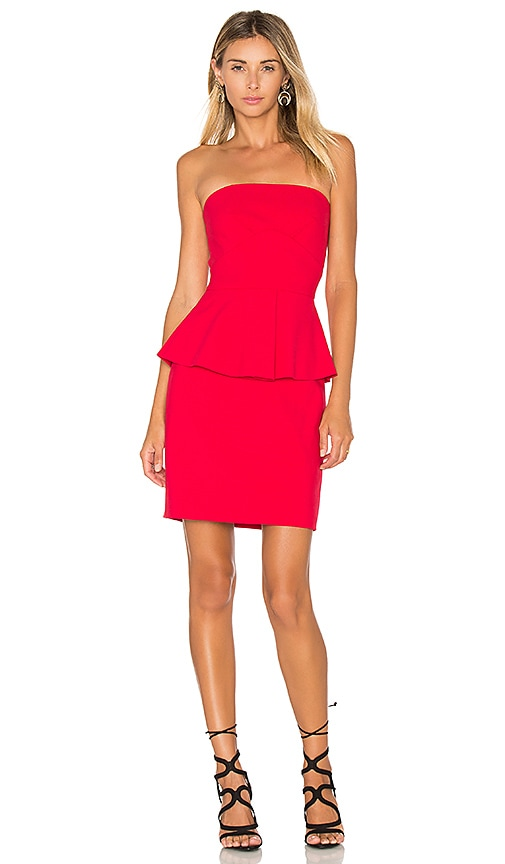 Elizabeth and James Laurel Dress in Red