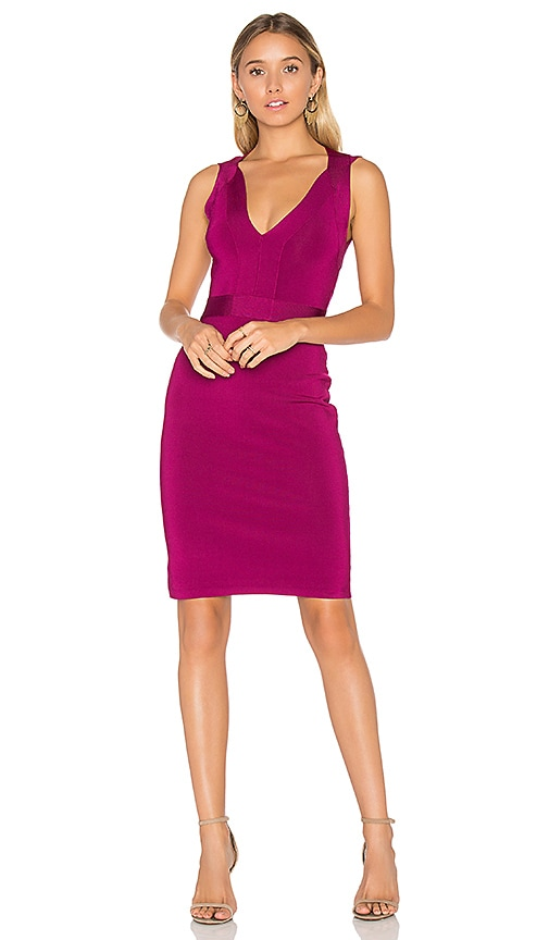 Elizabeth and James Peyton Dress in Fuchsia