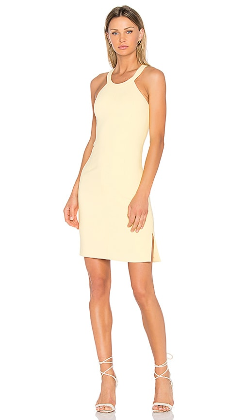 Elizabeth and James Imogen Mini Dress in Yellow