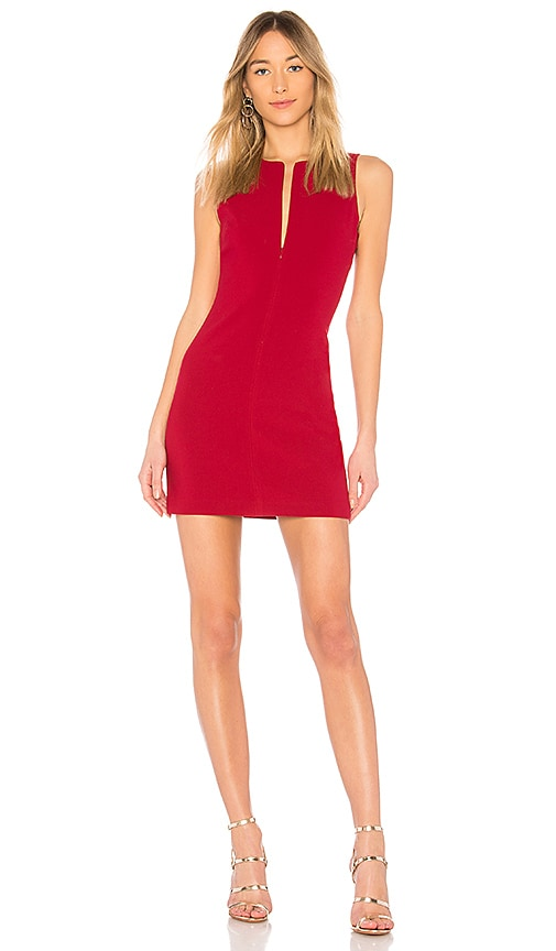 Elizabeth and James Cullin Dress in Red