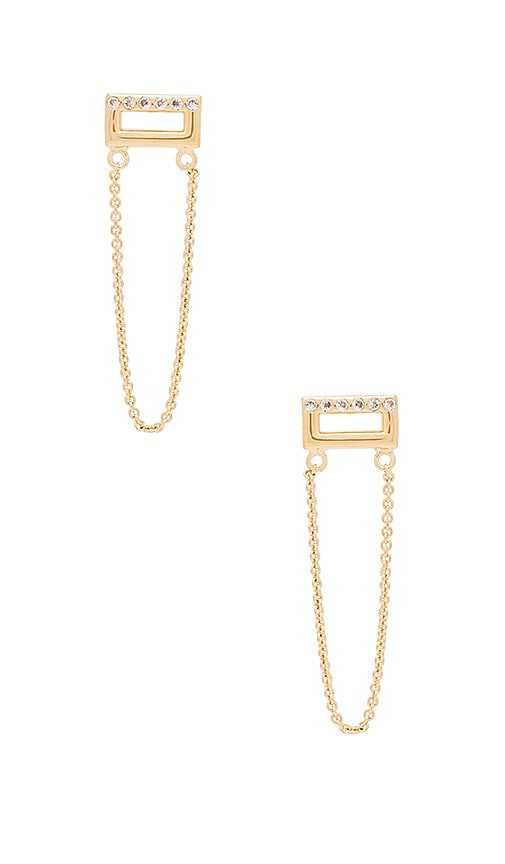 Elizabeth and James Adagio Earring in Yellow Gold