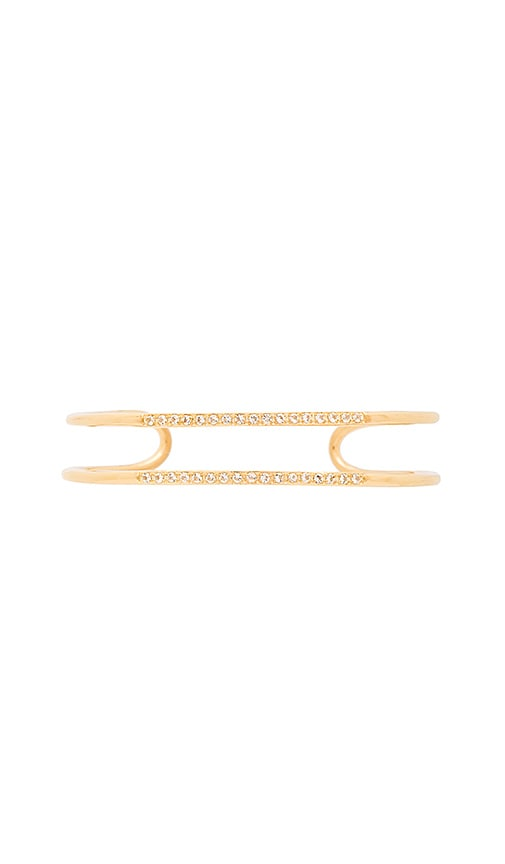 Elizabeth and James Selena Cuff in Metallic Gold