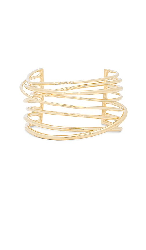 Elizabeth and James Roxy Cuff in Metallic Gold