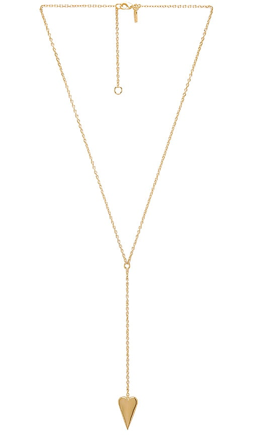 Elizabeth and James Bronte Necklace in Metallic Gold