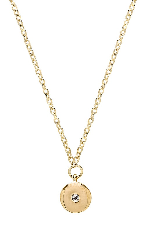 Elizabeth and James Raina Necklace in Metallic Gold