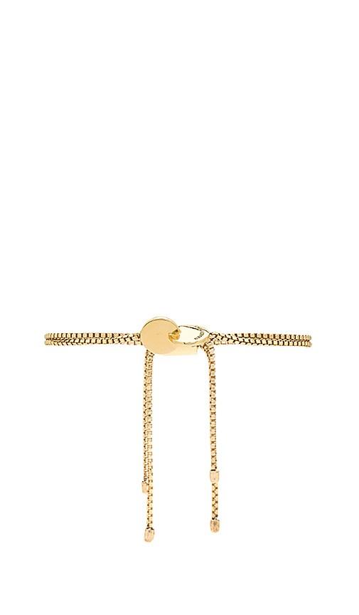 Elizabeth and James Lania Bracelet in Metallic Gold