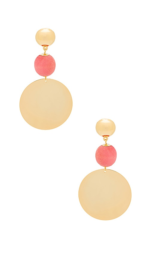 Elizabeth and James Cannes Earring in Metallic Gold