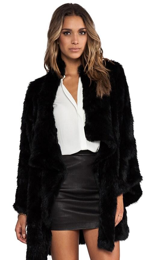 Kimono Elijah Rabbit Fur Coat