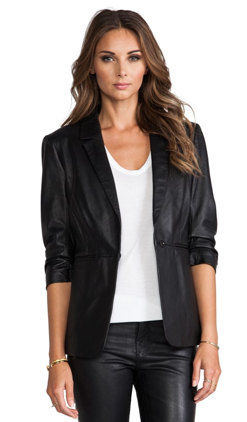 Leather James Blazer