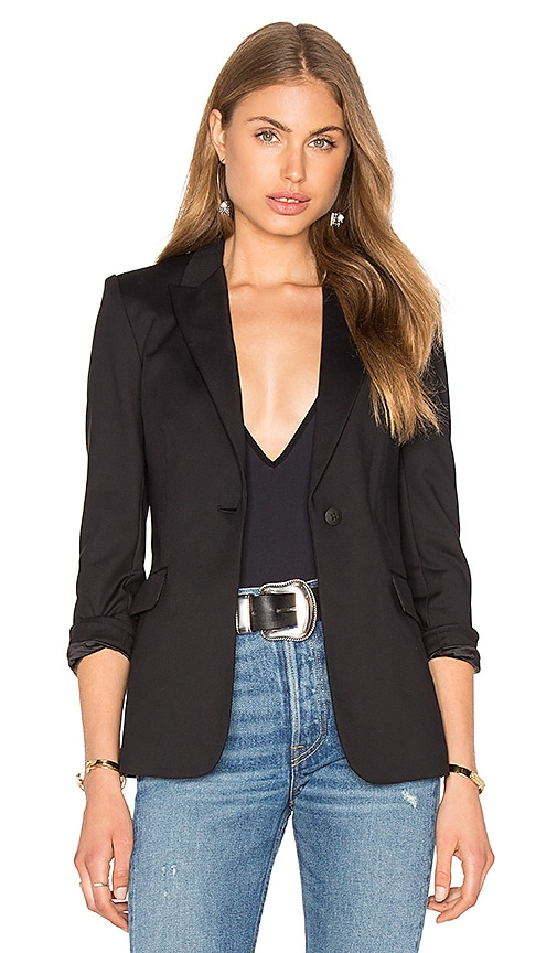 Elizabeth and James Alex Blazer in Black