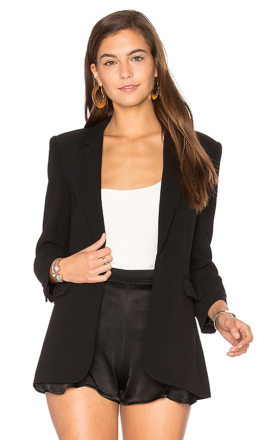 Elizabeth and James James Blazer in Black