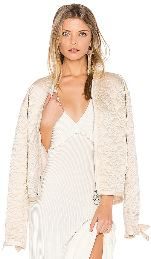 Elizabeth and James Daisy Jacket in Blush