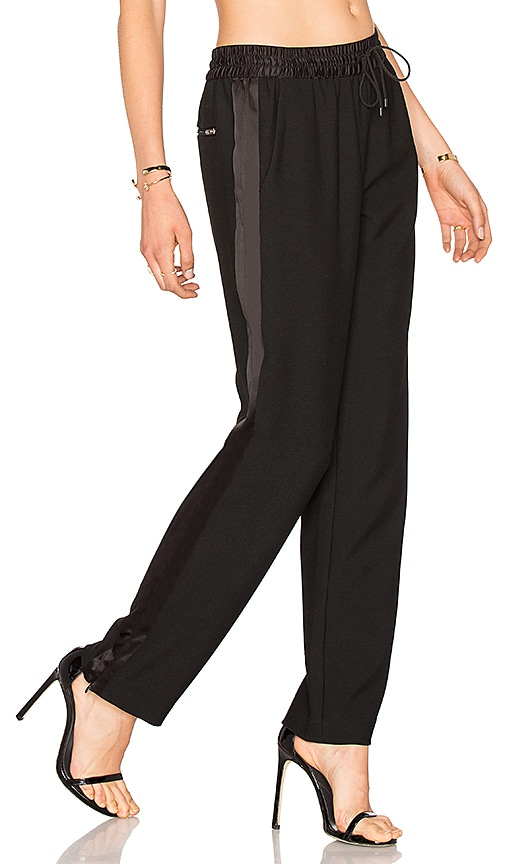 Elizabeth and James Collier Pant in Black