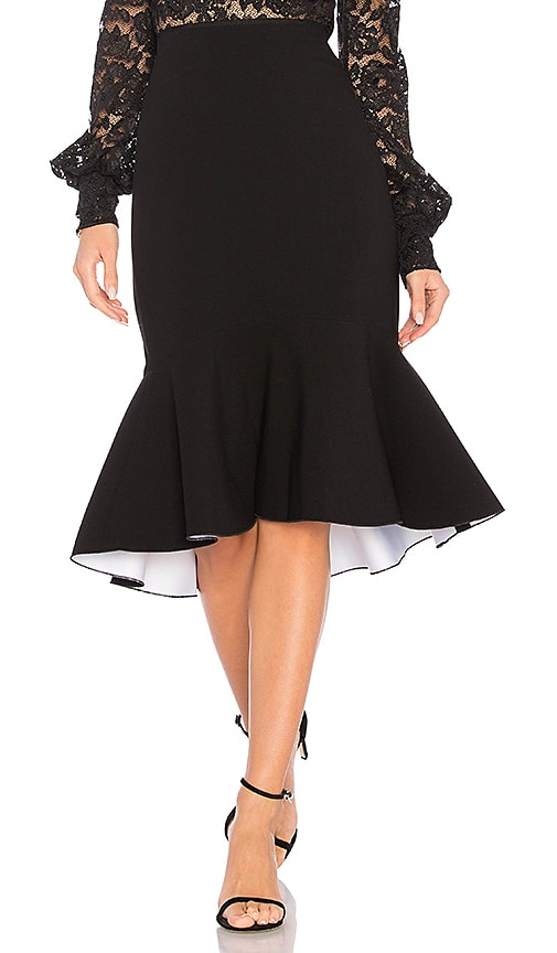 Elizabeth and James Duffy Skirt in Black & White