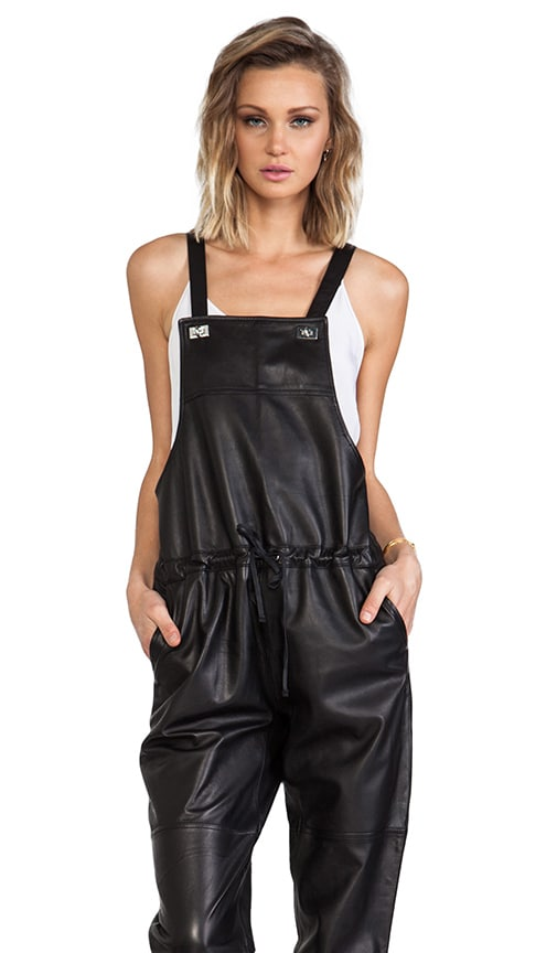 Lars Leather Overall