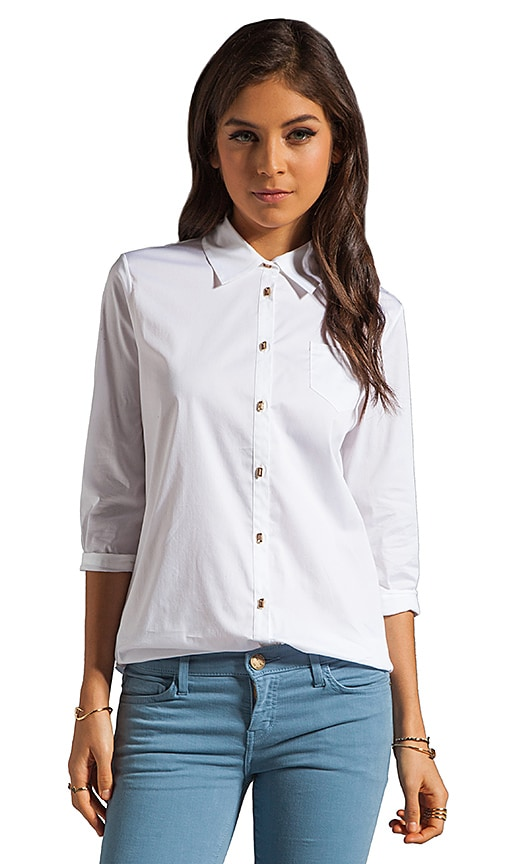 Jeweled Button Cohen Shirt