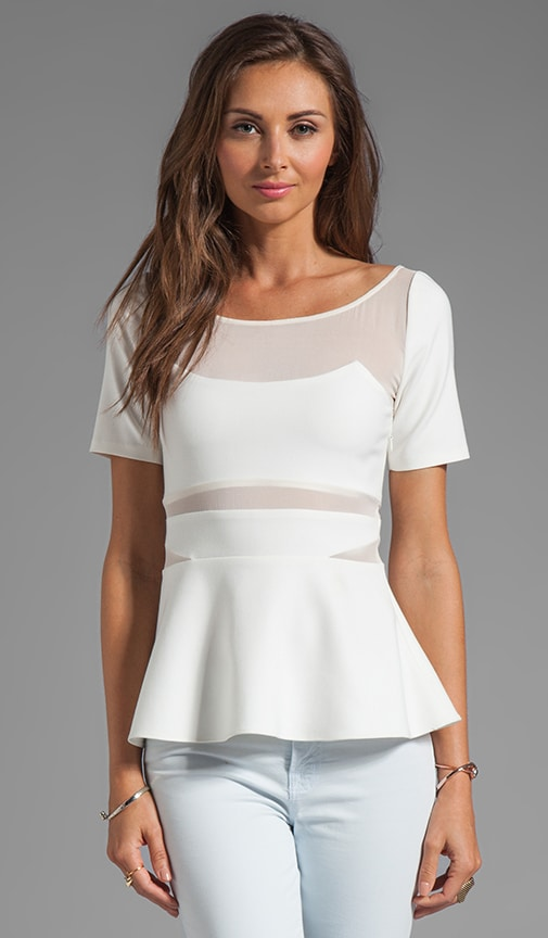 Selena Peplum Top