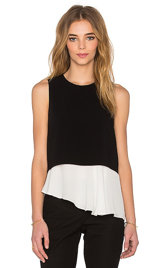 Elizabeth and James Amelie Tank in Black