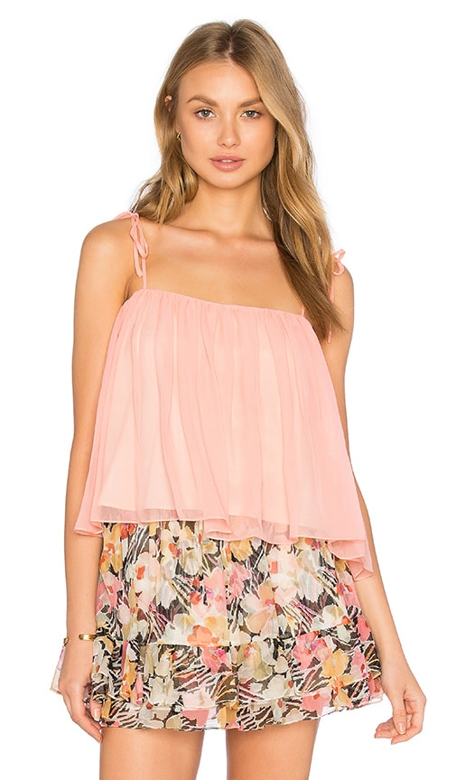 Elizabeth and James Taura Top in Pink