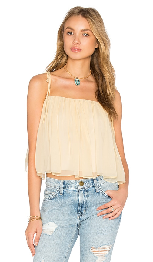 Elizabeth and James Taura Top in Yellow