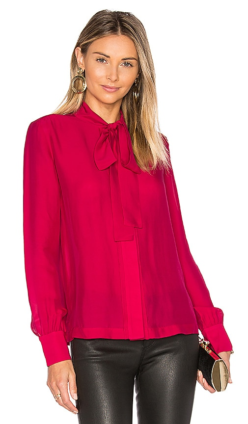 Elizabeth and James Winnie Blouse in Red