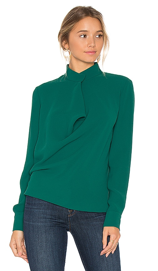Elizabeth and James Darby Blouse in Green