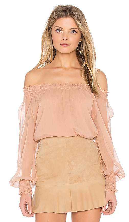 Michela Dropped Shoulder Blouse