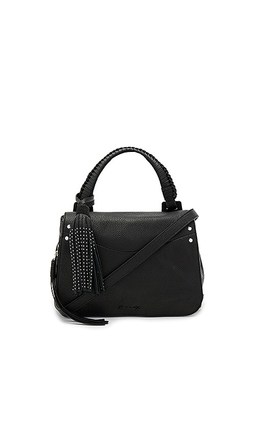 Elizabeth and James Trapeze Crossbody in Black
