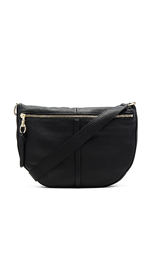 Elizabeth and James Scott Moon Bag in Black